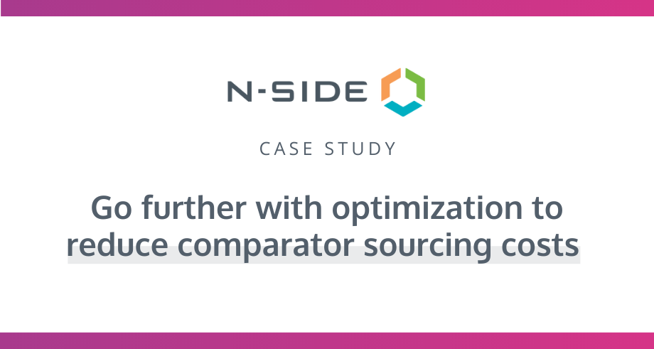 Optimizing comparator drug sourcing for safe and efficient clinical supply | Case Study