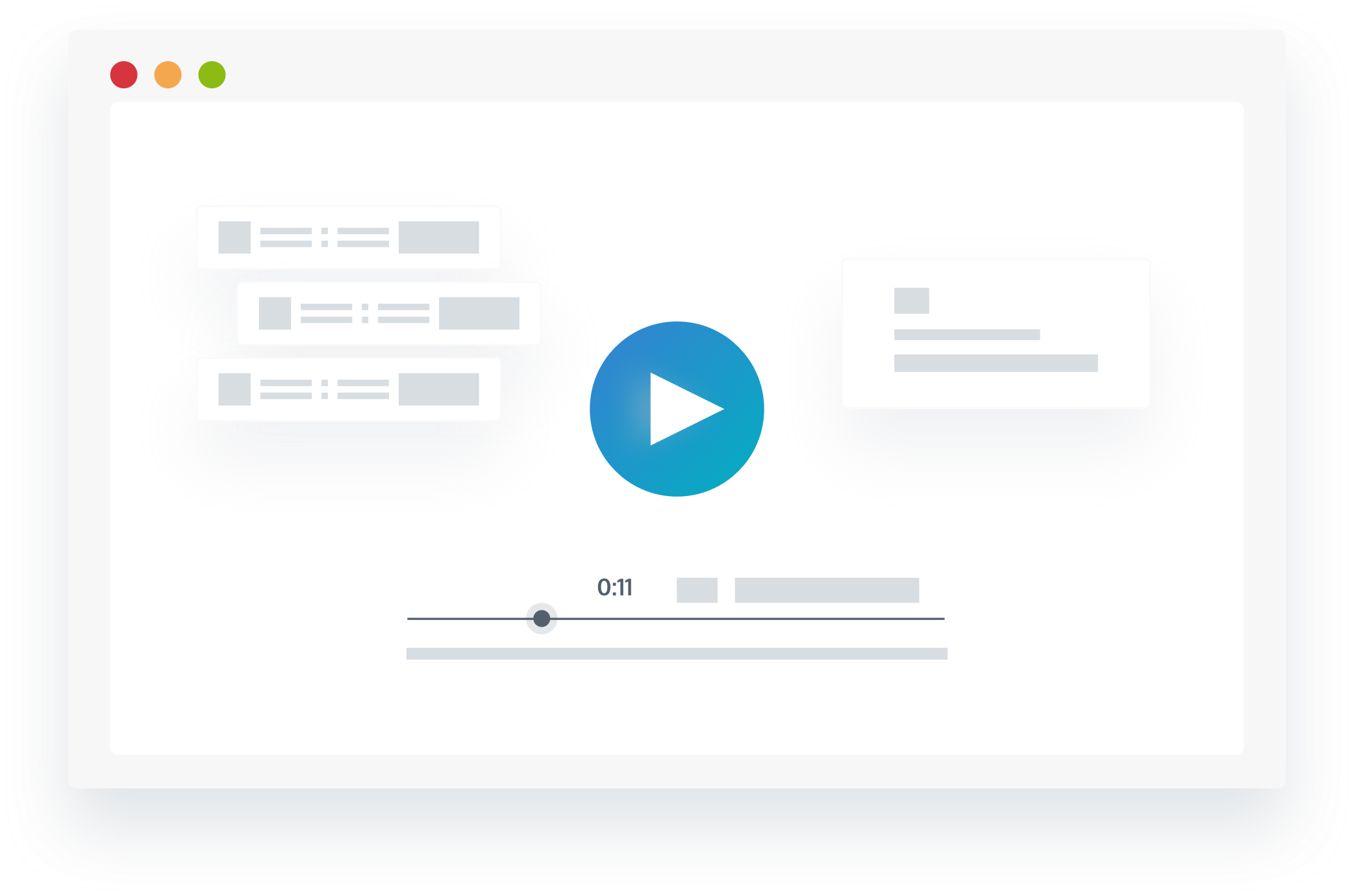 Production app video screen shot