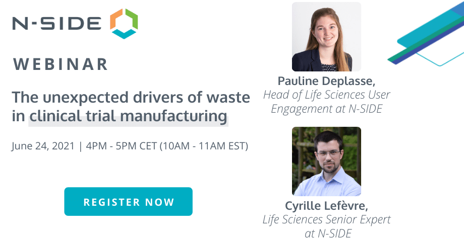 The unexpected drivers of waste inclinical trial manufacturing