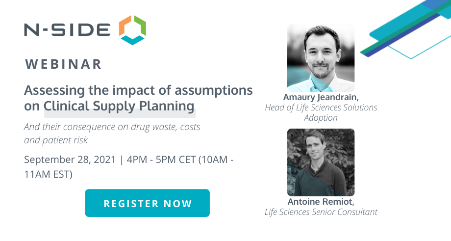 Assessing the impact of assumptions on Clinical Supply Planning